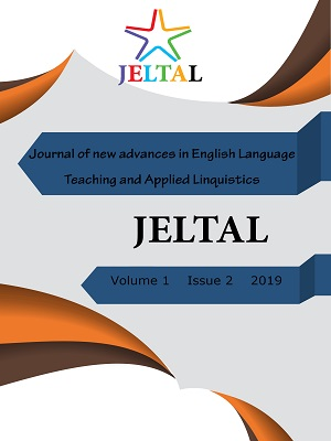Journal of new advances in English Language Teaching and Applied Linguistics